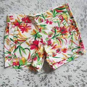 J. Crew Factory Printed Floral Shorts Sz2